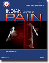 Indian Journal of Pain